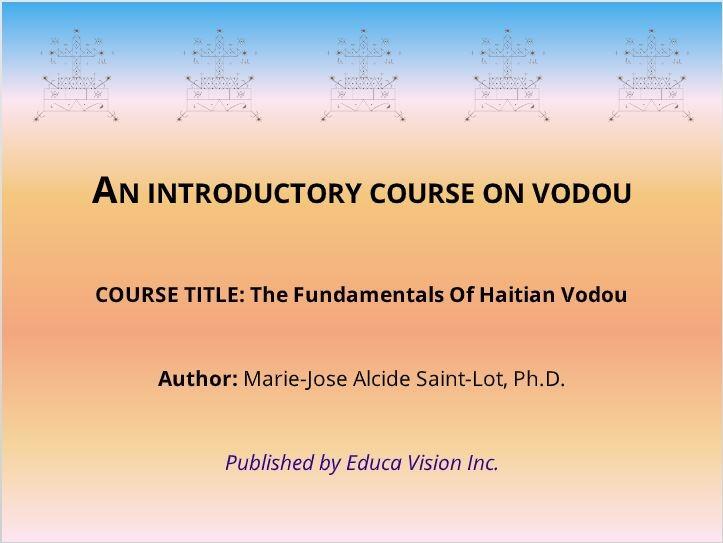 Fundamentals Of Haitian Vodou (Online Course)