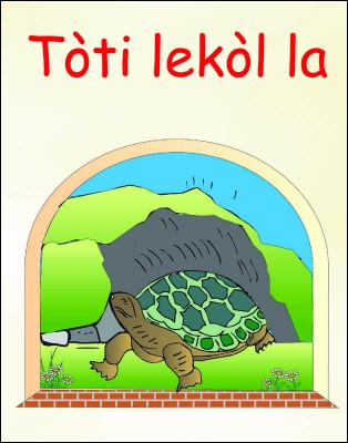 The School's Turtle (Bilingual)