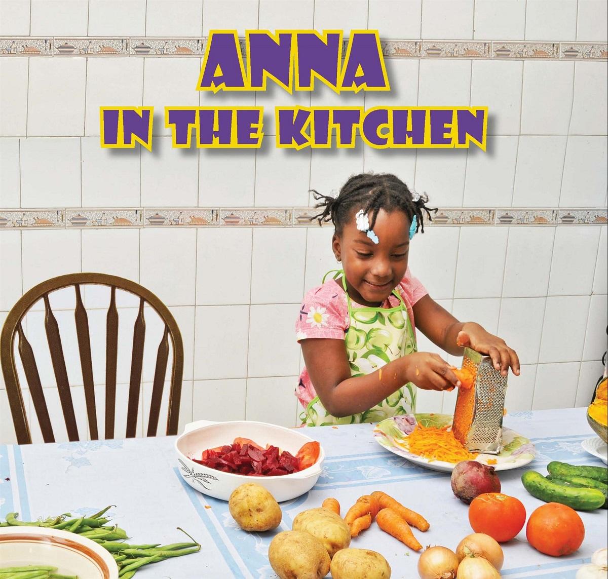 Anna in the kitchen