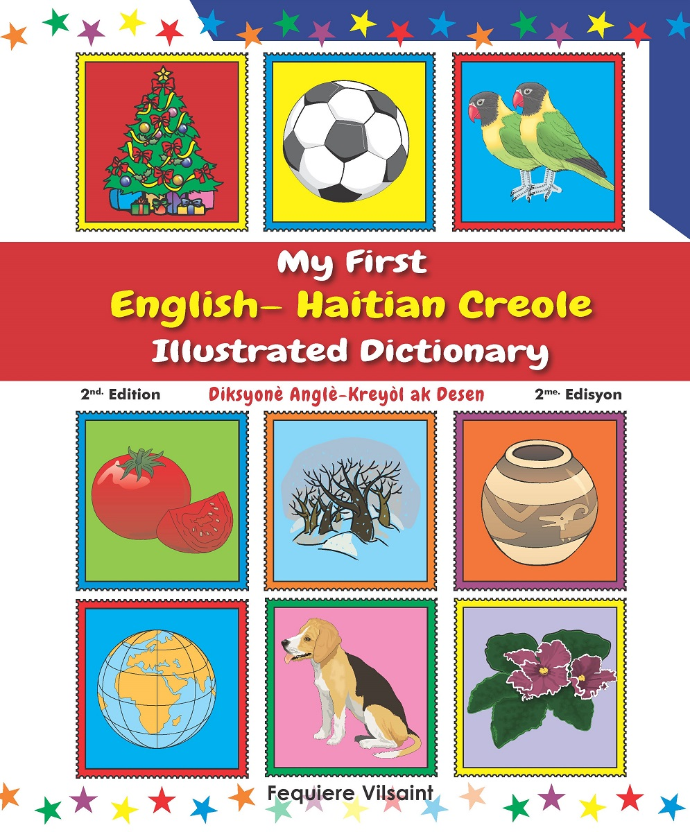 My First English  Haitian Creole Illustrated Dictionary