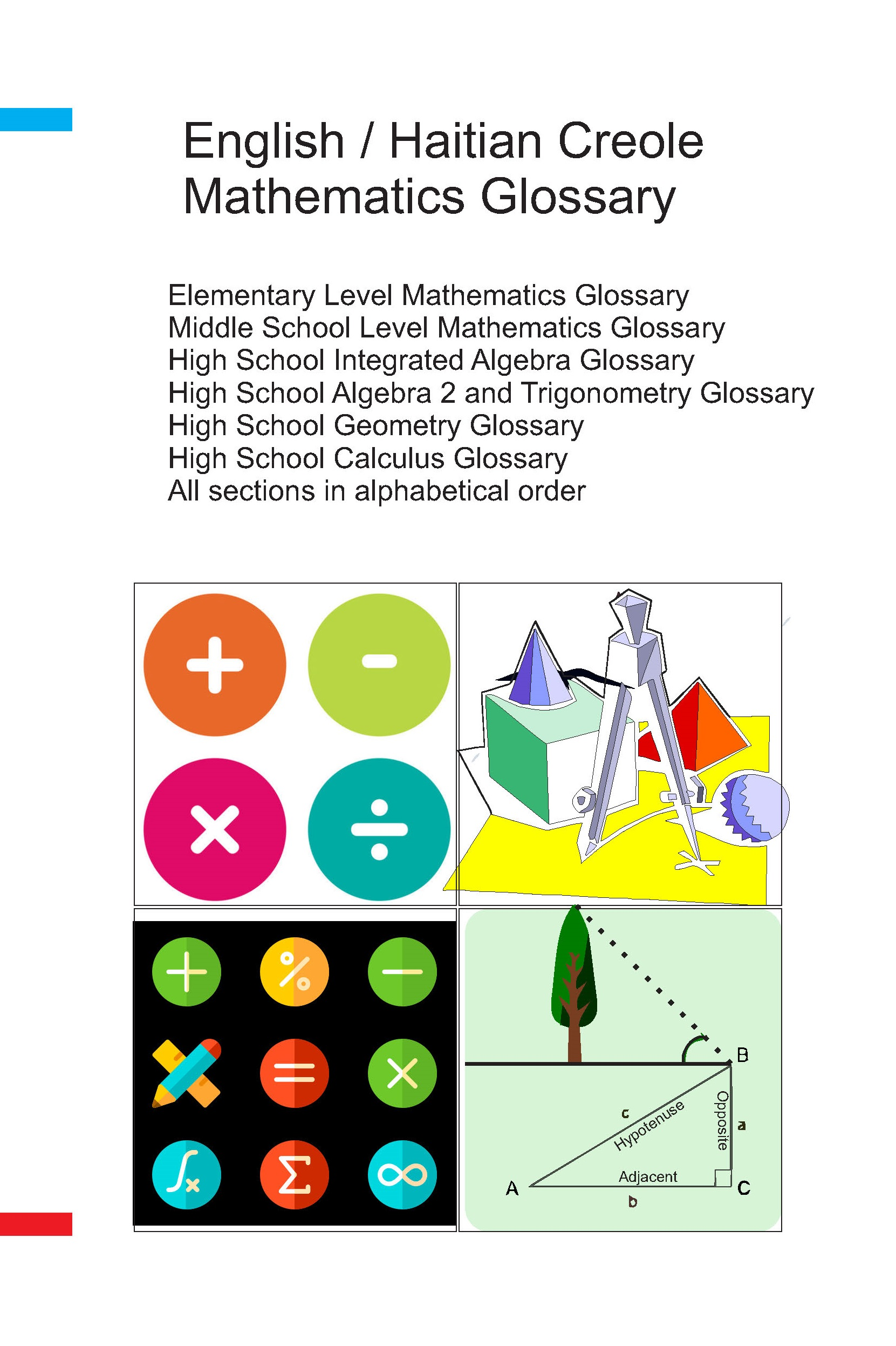 Mathematics Glossary  English/Haitian Creole  Elementary, Middle School and High School Level