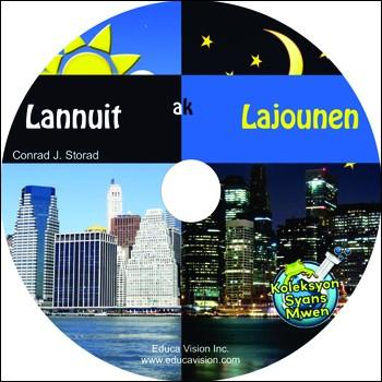 Interactive ebook: Lannuit ak Lajounen