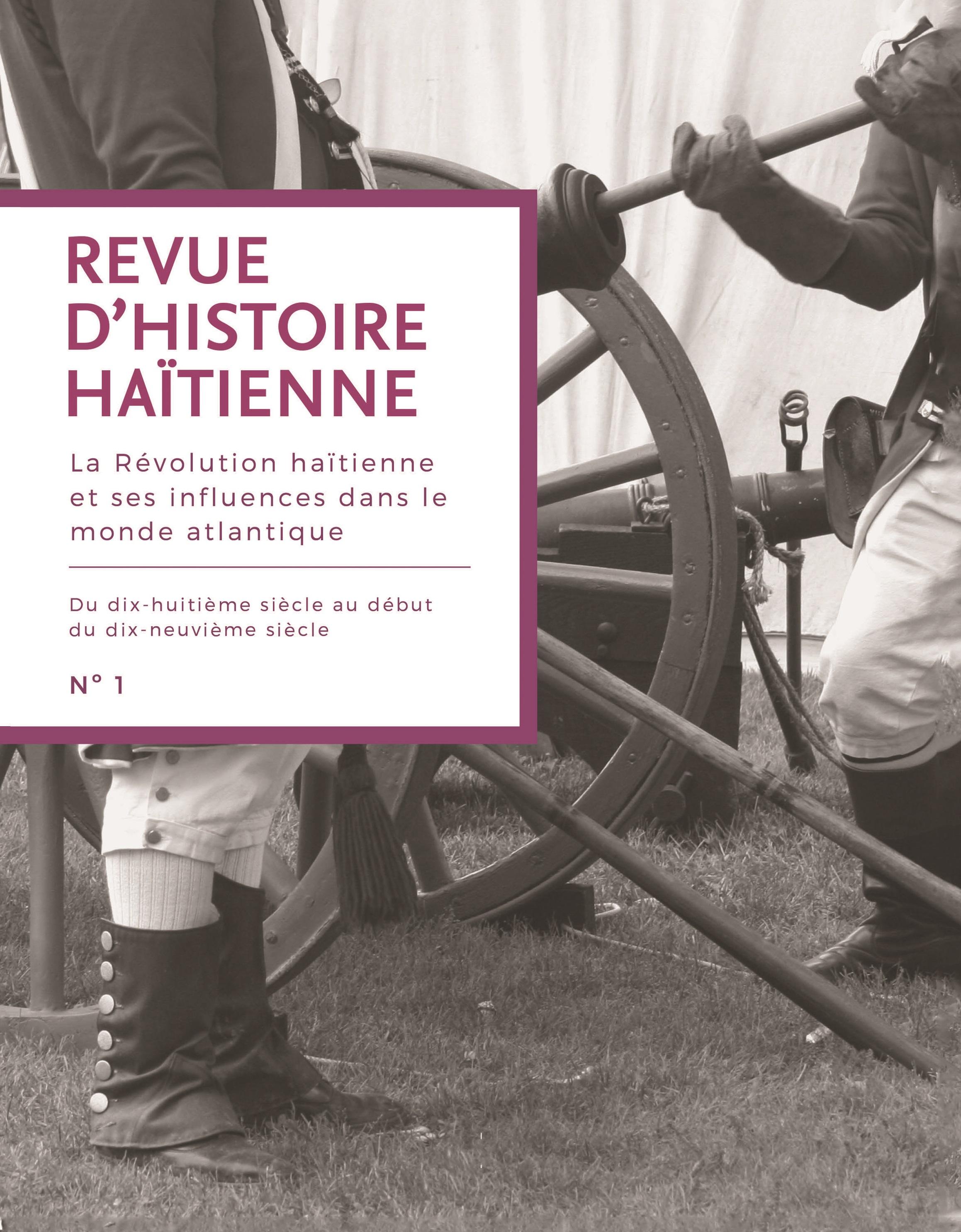 Revue D'histoire Haïtienne