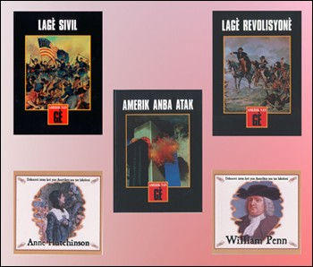 Koleksyon Istwa Etazini / US History Set