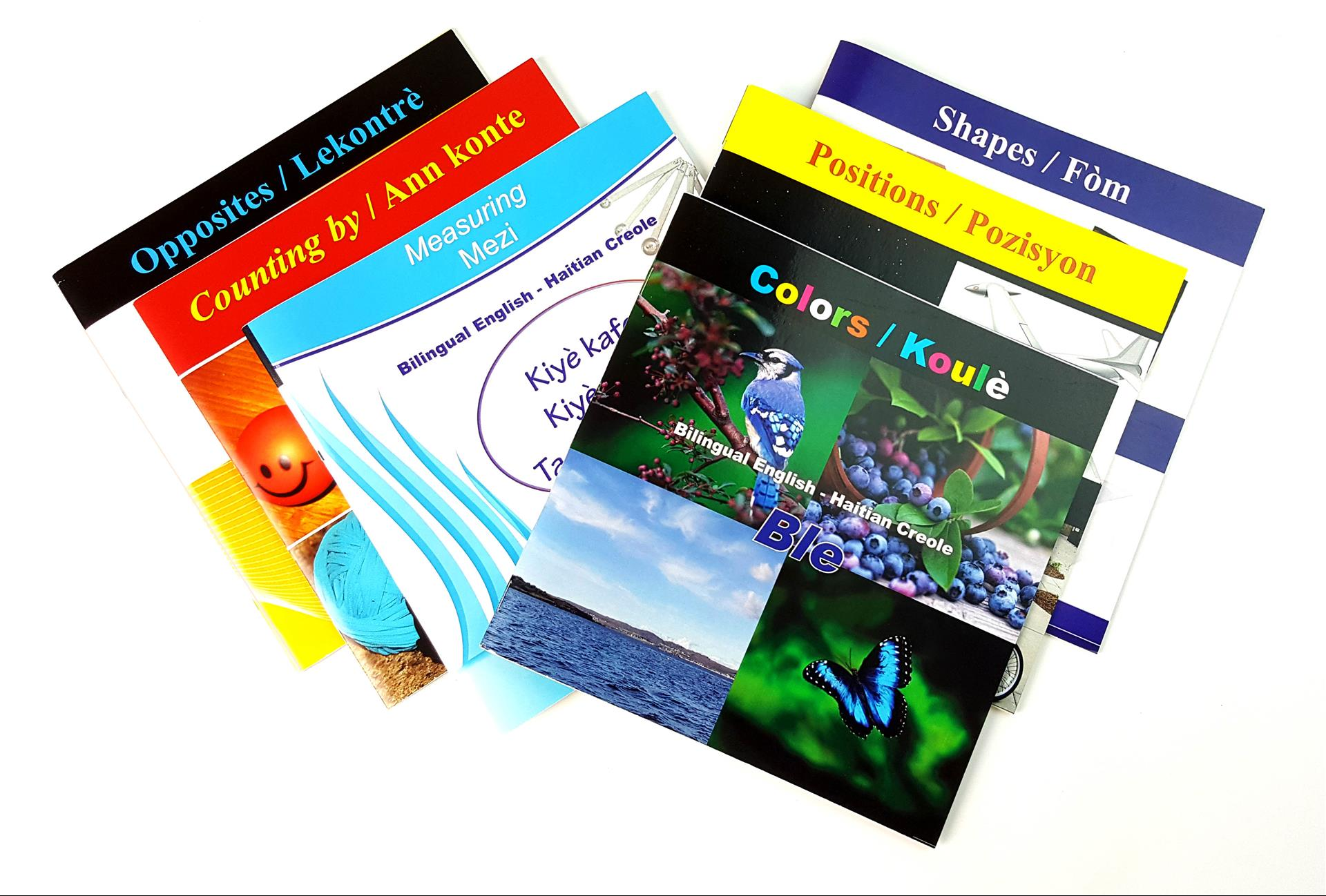 Bilingual English  Haitian Creole Concept Series