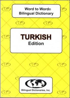 Turkish Word to Word Bilingual Dictionary