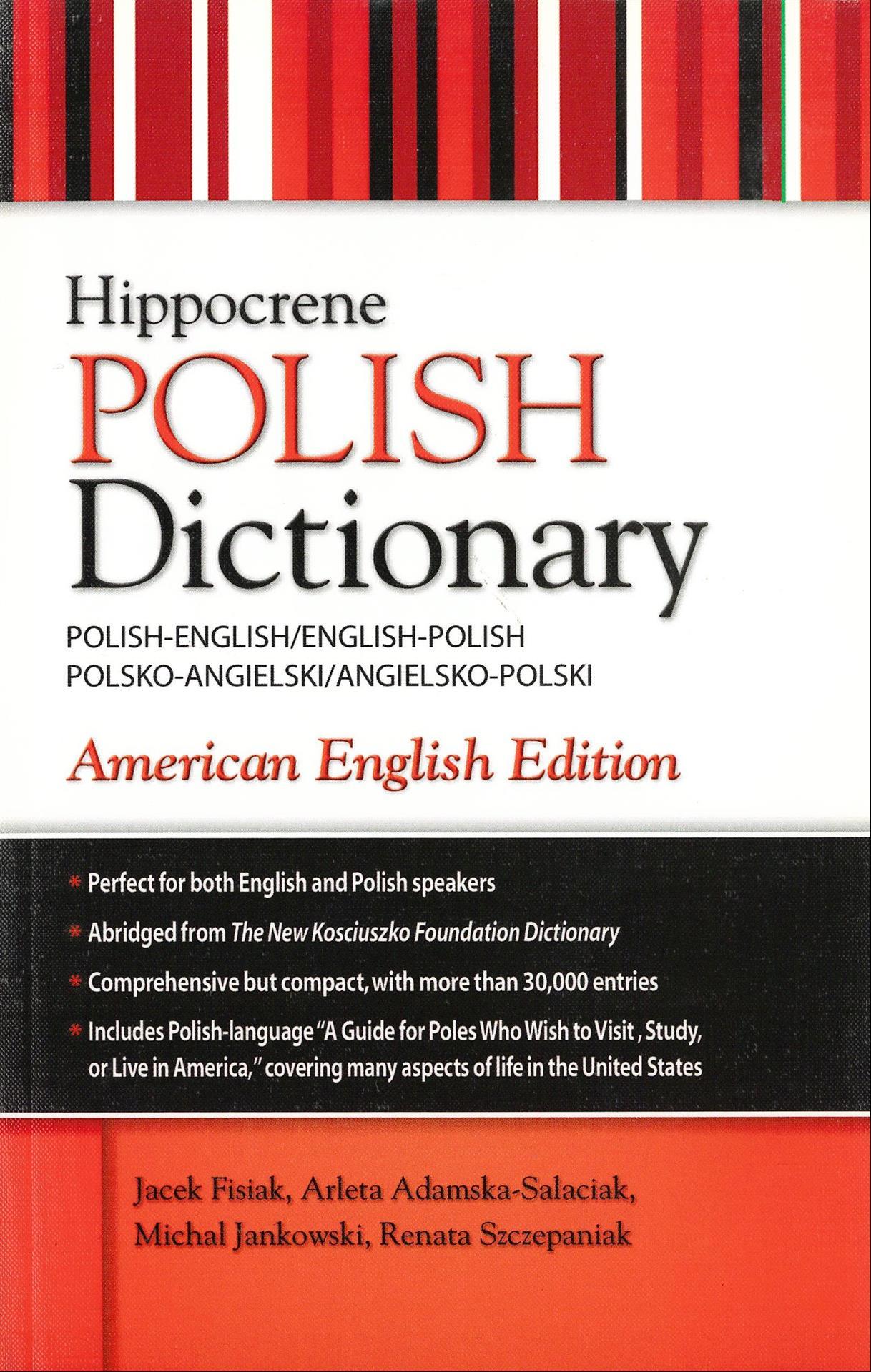 POLISH-ENGLISH/ENGLISH-POLISH DICTIONARY