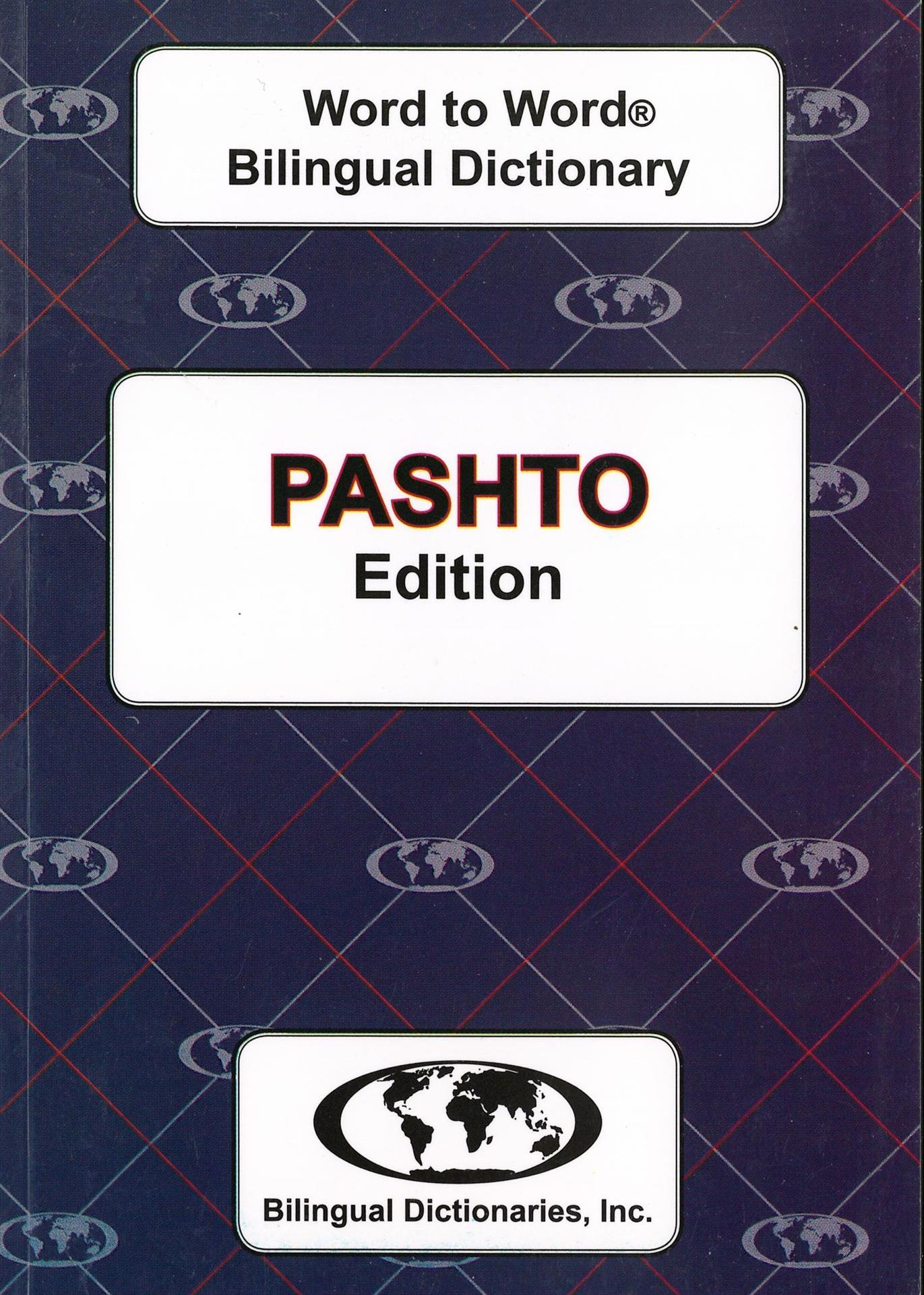 Pashto Word to Word Bilingual Dictionary