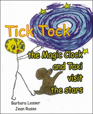 Tick Tock the Magic Clock and Taxi visit the stars