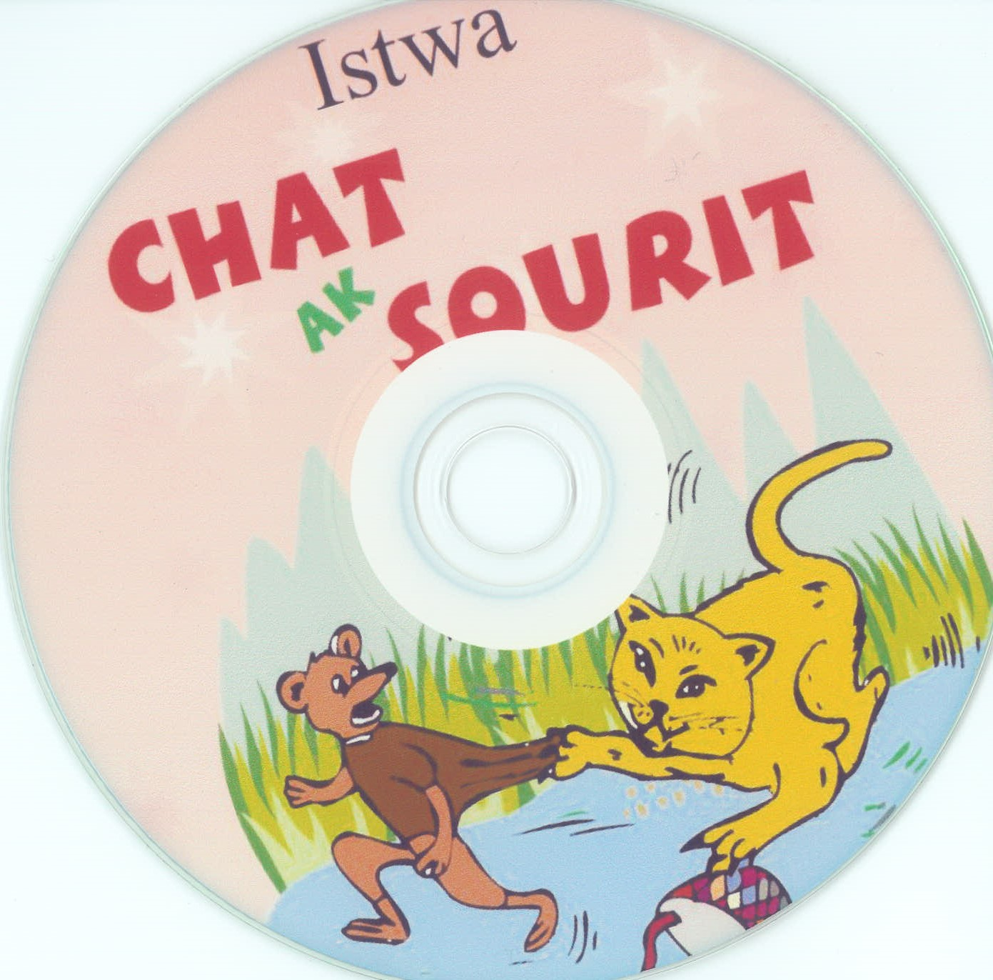 Chat AK Sourit/ Cat & Mouse / CD only