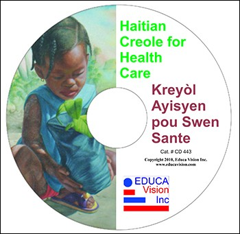 Haitian Creole for Health Care / On CD