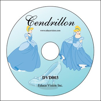 Cendrillon (DVD, Cinderella in French)