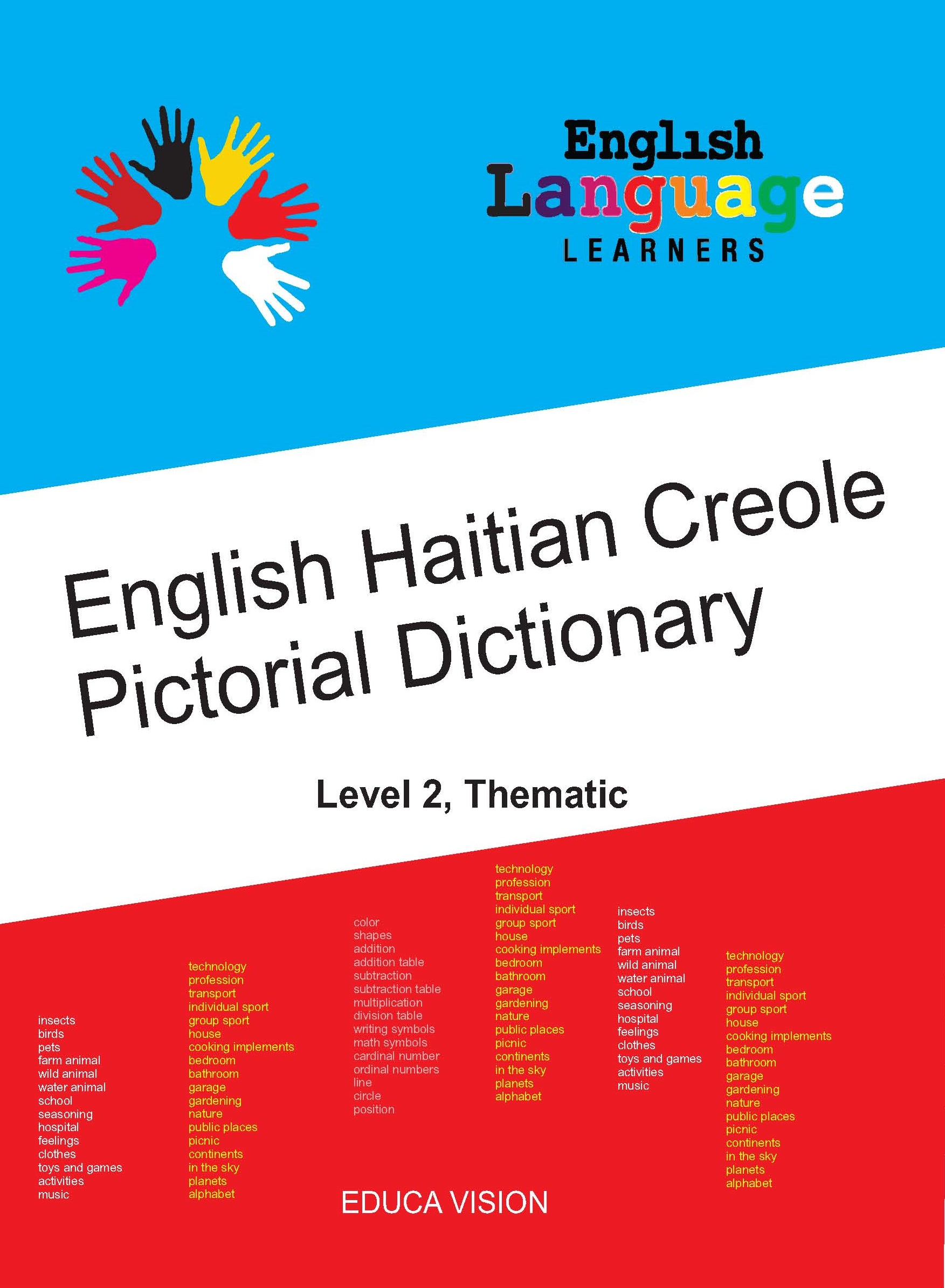 English Haitian Creole Pictorial Dictionary Level 2