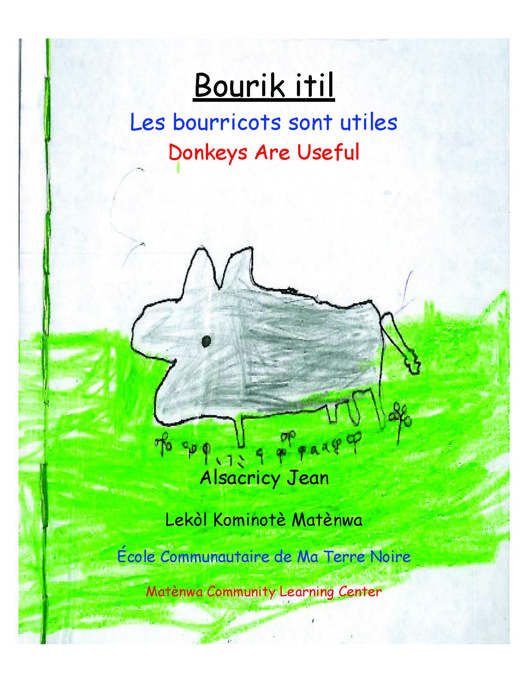 Bourik itil / Donkeys Are Useful
