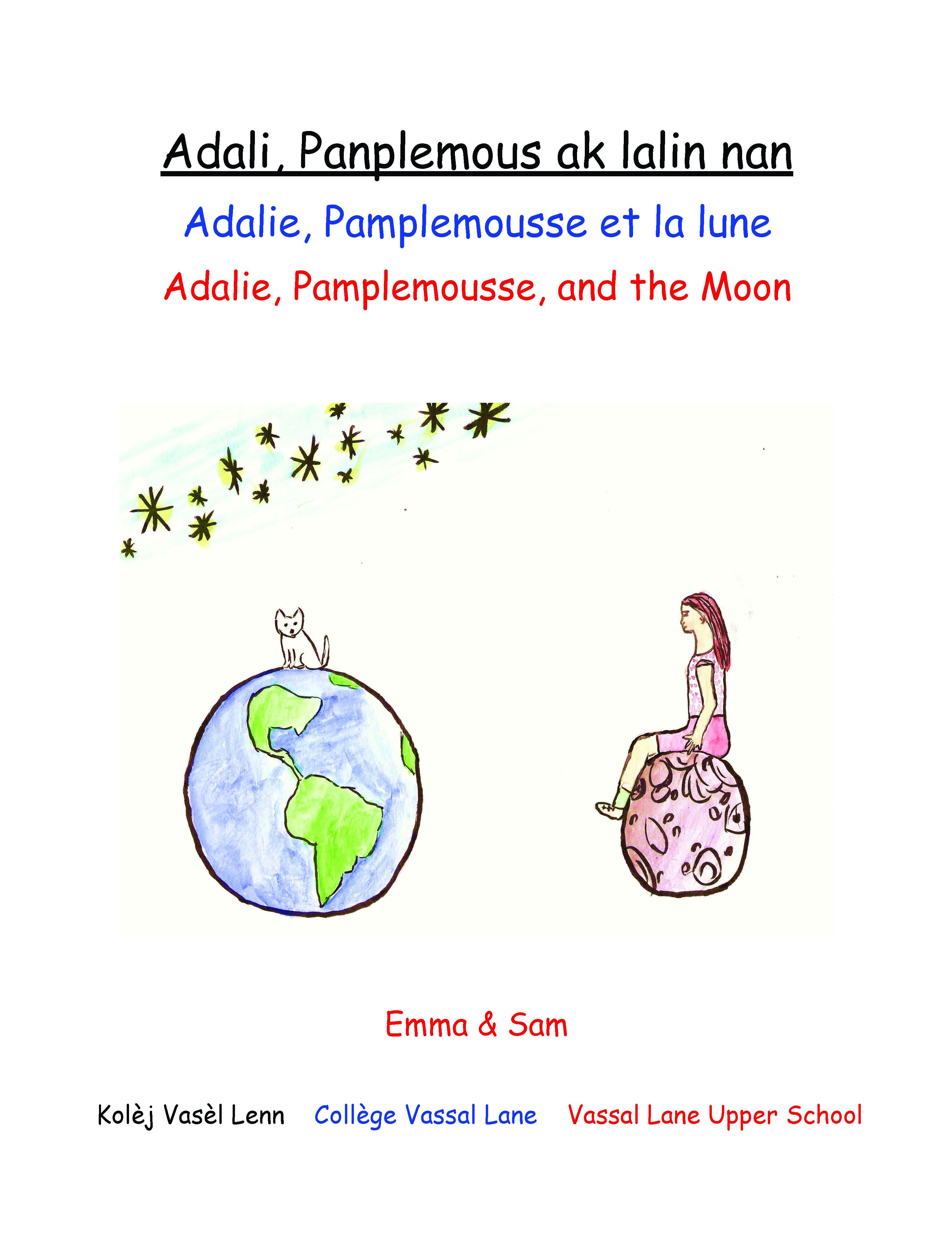 Adali, Panplemous ak lalin nan / Adalie, Pamplemousse, and the Moon