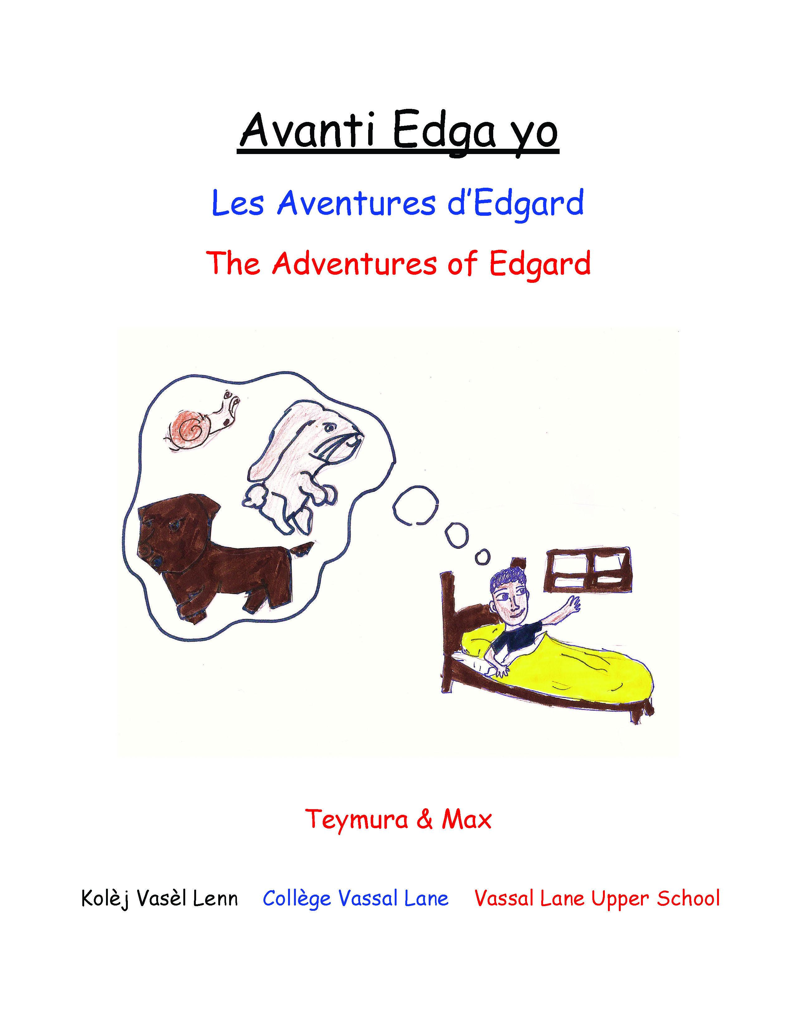 Avanti Edga yo / The Adventures of Edgard