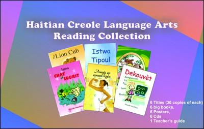 Haitian Creole Language Arts Reading Collection